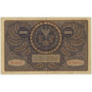 1.000 marek 1919 - III Serja S -