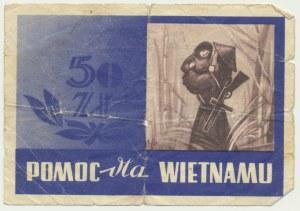 Pomoc dla Wietnamu, cegiełka na 50 złotych
