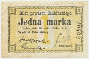 Szubin, 1 marka 1919