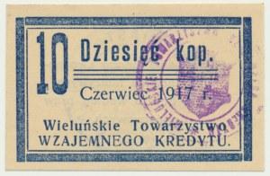 Wieluń, 10 kopiejek 1917