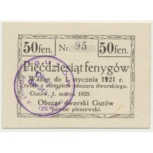 Gutów, 50 fenigów 1921