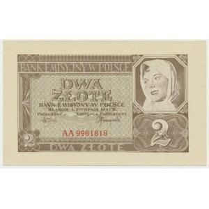 2 złote 1941 - AA -
