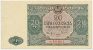 20 złotych 1946 - A -