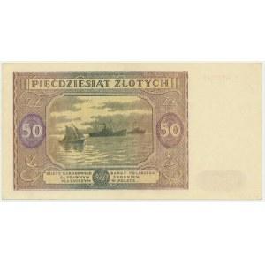 50 złotych 1946 - E -