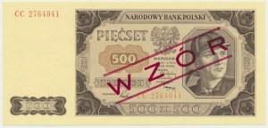 500 złotych 1948 WZÓR - CC -