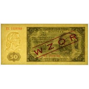 50 złotych 1948 WZÓR - EL -