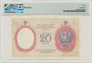 20 złotych 1919 - A.37 - PMG 30 - DUŻA RZADKOŚĆ
