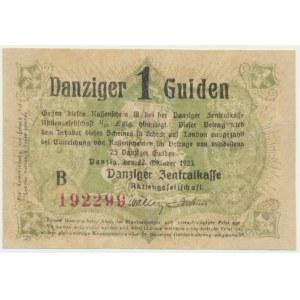 Danzig, 1 Gulden 1923 October -