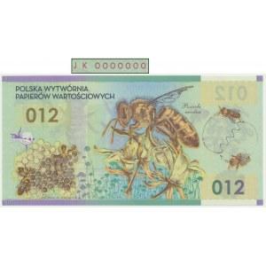 PWPW 012, Pszczoła (2012) - JK 0000000 -