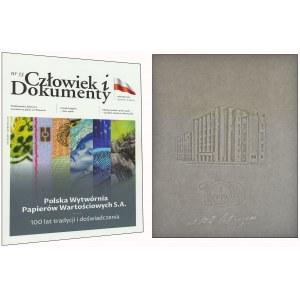 PWPW, papier ze znakiem wodnym Budynek PWPW + Magazyn Człowiek i Dokumenty