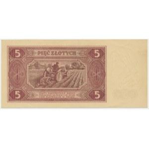 5 złotych 1948 - BI -