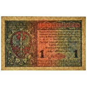 1 marka 1916 Jenerał - A -