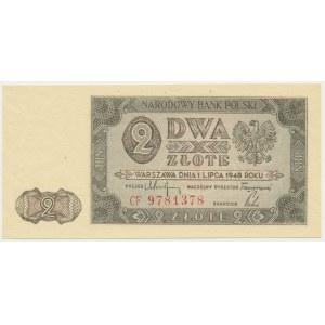 2 złote 1948 - CF -