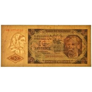 10 złotych 1948 - AN -