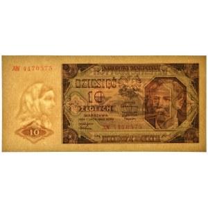 10 złotych 1948 - AW -