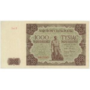 1.000 złotych 1947 - B -