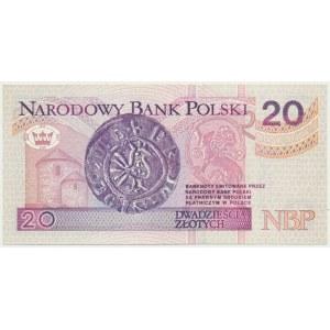 20 złotych 1994 - AG - rzadsza wczesna seria
