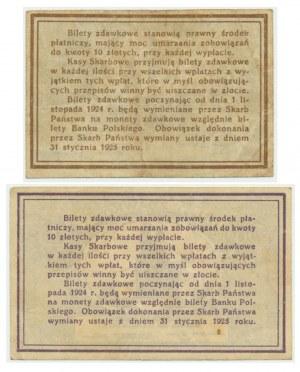 Zestaw, 10-20 groszy 1924 (2 szt.)
