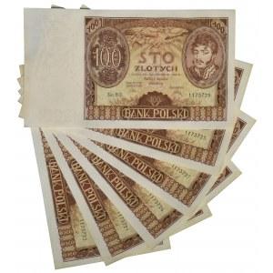 Zestaw 100 złotych 1934 - BO - (6 szt.)