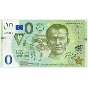 0 EURO 2021 - Józef Gałeczka, 115 lat historii
