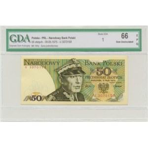 50 złotych 1975 - U - GDA 66 EPQ