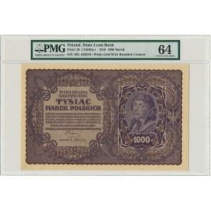 1.000 marek 1919 - I Serja BU - PMG 64