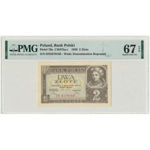 2 złote 1936 - DN - PMG 67 EPQ
