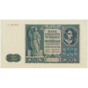 50 złotych 1941 - E -