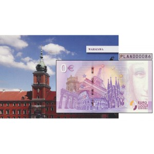 0 EURO 2019 - Warszawa - PLAA 000086 - niski numer -