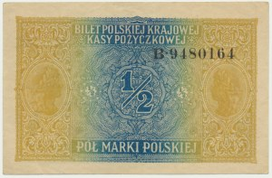 1/2 marki 1916 Generał