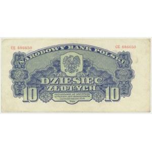 10 złotych 1944 ...owym - CE -