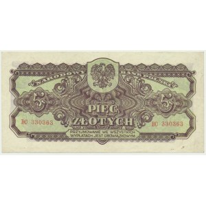 5 złotych 1944 ...owym - BC -