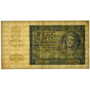 5 złotych 1940 - B -