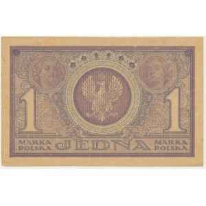 1 marka 1919 - IAA - pierwsza seria - piękna