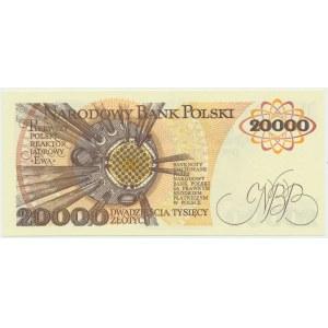 20.000 złotych 1989 - AN -