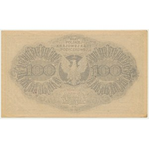 100 marek 1919 - Ser. BF - PIĘKNY I RZADKI