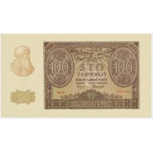 100 złotych 1940 - ZWZ - B -