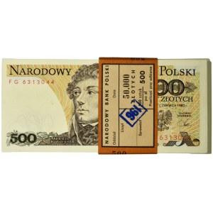 Paczka 500 złotych 1982 - FG - (99 szt.)