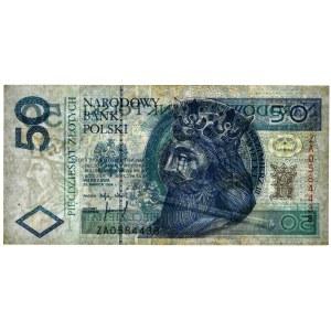 50 złotych 1994 - ZA - PMG 40 - seria zastępcza
