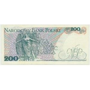 200 złotych 1976 - AA - RZADKA