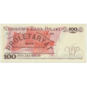 100 złotych 1976 - AD - bardzo rzadka pierwsza seria