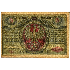 5 marek 1916 Generał biletów - B - PMG 62