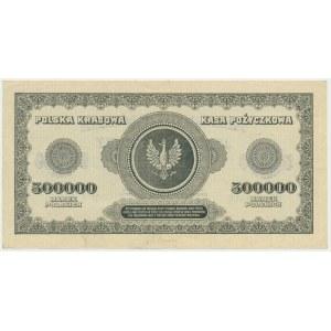 500.000 marek 1923 - F - 7 cyfr - bardzo ładny