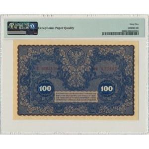 100 marek 1919 - IE Serja N - PMG 65 EPQ