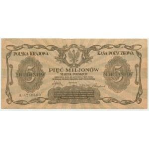 5 milionów marek 1923 - A -