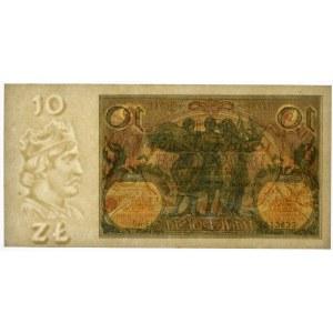 10 złotych 1929 - Ser.EL - PMG 64