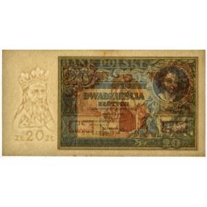 20 złotych 1931 - D.H - PMG 64
