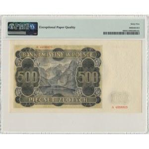 500 złotych 1940 - A - PMG 65 EPQ