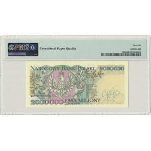 2 miliony złotych 1993 - A - PMG 66 EPQ