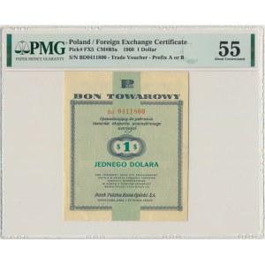Pewex, 1 dolar 1960 - Bd - bez klauzuli - PMG 55 - RZADKA